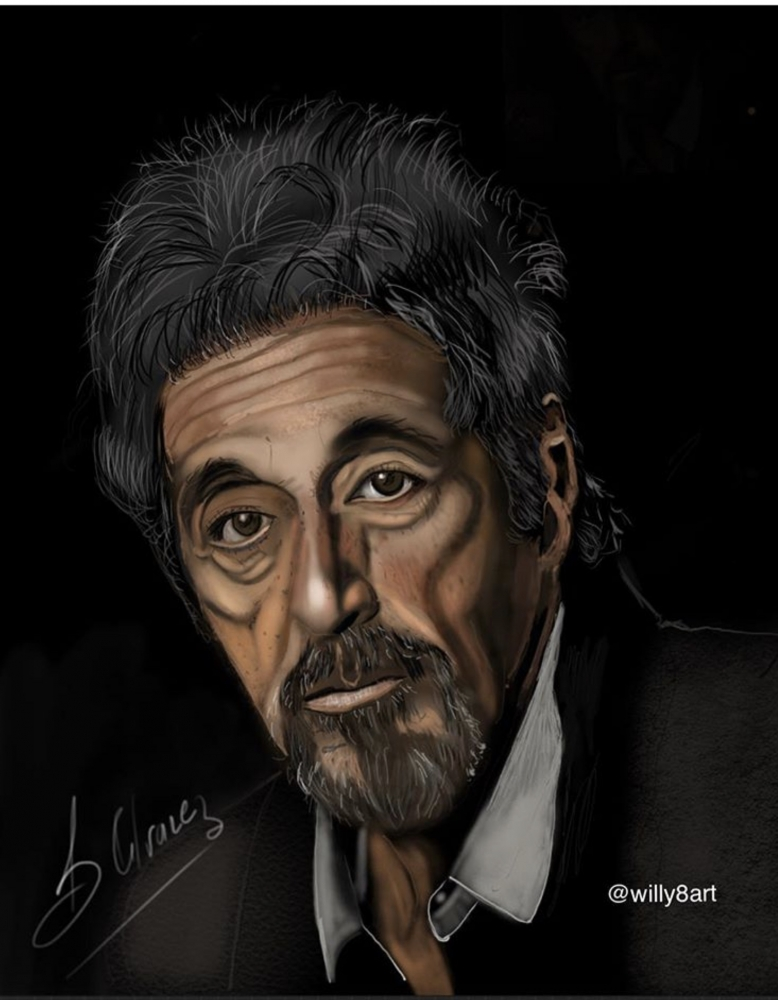 Al Pacino by Willy8art